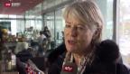 Video «Verena Diener tritt nicht mehr an» abspielen