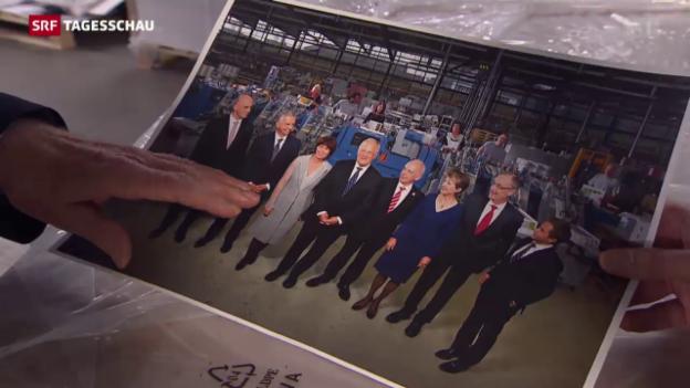 Video «Das neue Bundesratsfoto» abspielen
