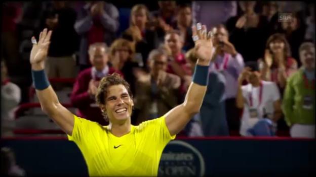 Video «Das grandiose Comeback von Rafael Nadal» abspielen