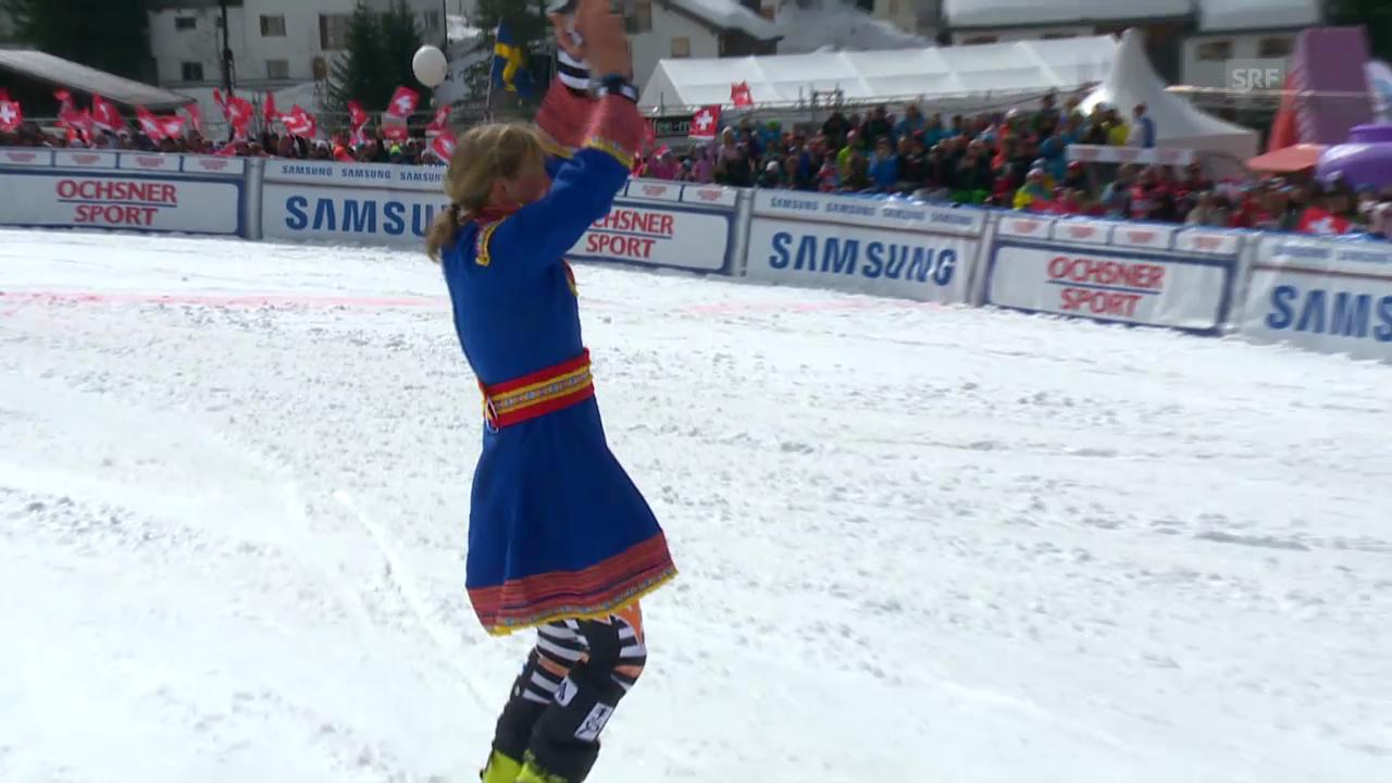 Ski: Tanja Poutiainens Abschied auf der Lenzerheide («sportlive», 16.03.2014)
