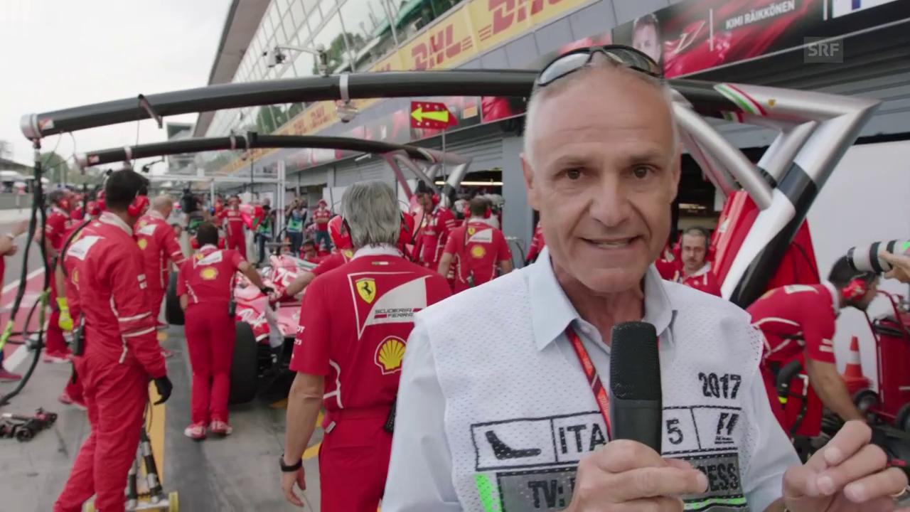 Das Warm-Up zum GP von Italien