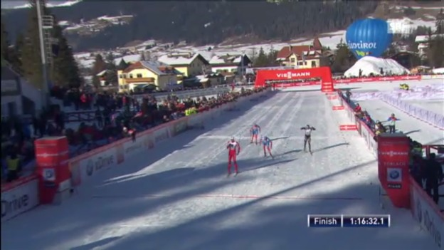 Video «Tour de Ski: Die 4. Etappe («sportaktuell»)» abspielen