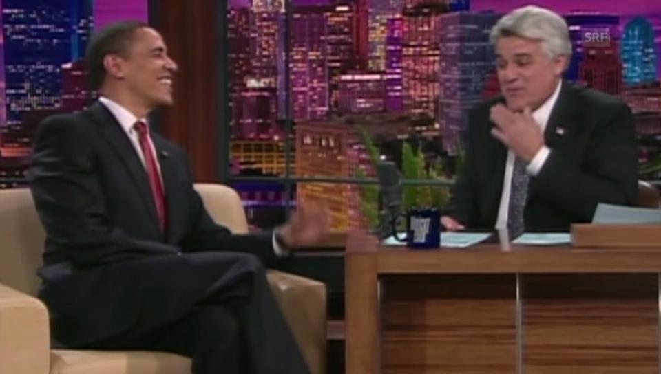 Barack Obama bei Jay Leno (unkomm.)