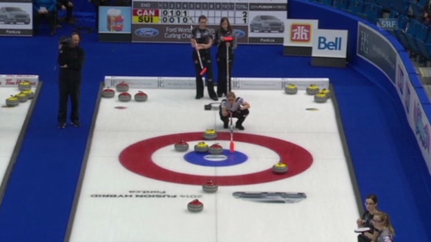 Video «Curling-WM: Entscheidung bei Kanada - Schweiz (Quelle: EVS)» abspielen