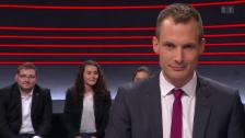 Video «Letzte Frage: «Was müssen Sie aufgeben, wenn Sie gewählt werden?»» abspielen