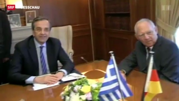 Video «Zuckerbrot und Peitsche für Griechenland» abspielen