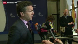 Video «Reaktionen der EU auf griechische Wahlen» abspielen