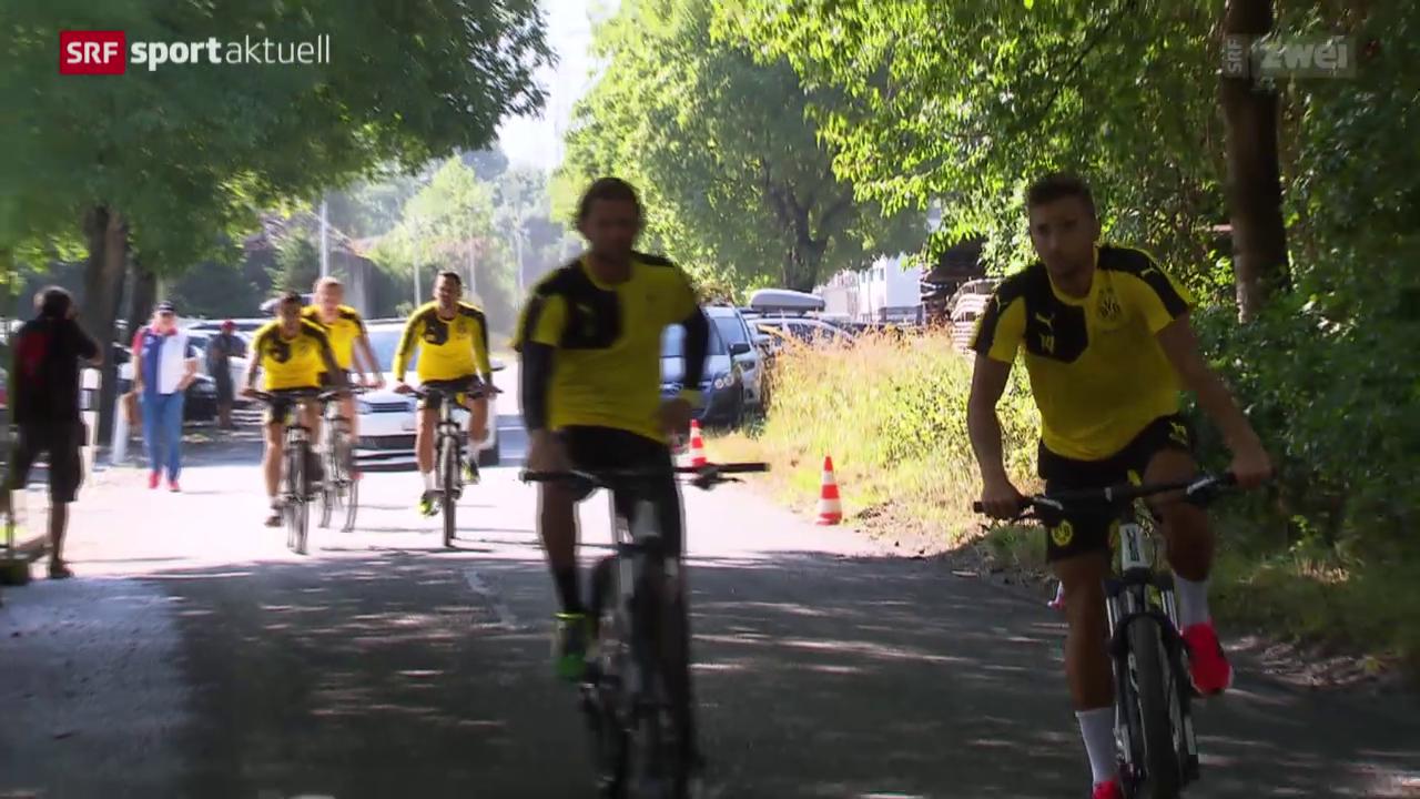 Fussball: Roman Bürki mit Dortmund in der Schweiz
