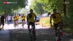 Video «Fussball: Roman Bürki mit Dortmund in der Schweiz» abspielen