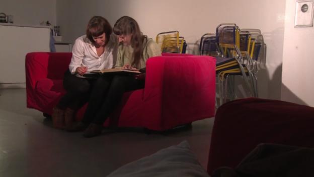 Video «Die Schwestern Priska Zemp (alias Heidi Happy) und Anet Zemp» abspielen