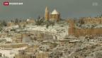 Video «Jerusalem mal anders: Im Schnee» abspielen
