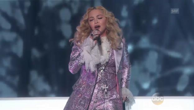 Video «Madonnas Prince Tribute» abspielen