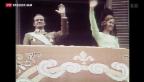 Video «Juan Carlos: vom Helden zum Skandalkönig» abspielen