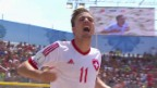 Video «Beachsoccer-WM: Viertelfinal Portugal - Schweiz» abspielen