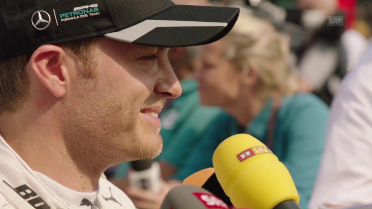 Rosberg: «Bei mir ging heute nicht mehr»