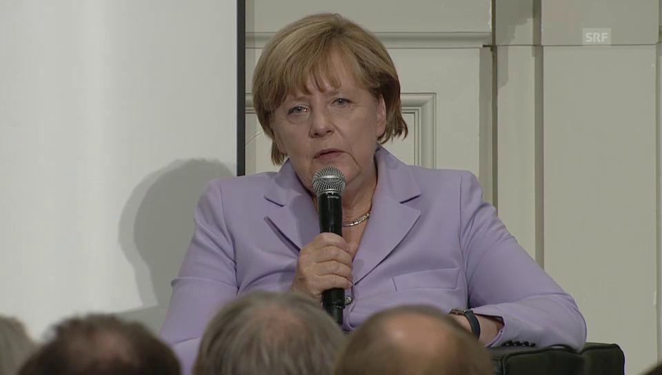 Merkel über die Angst vor einer Islamisierung