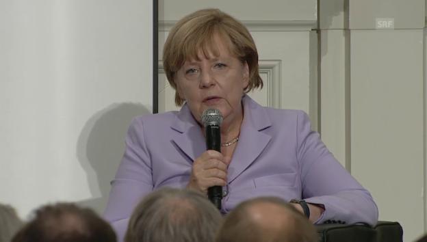 Video «Merkel über die Angst vor einer Islamisierung» abspielen