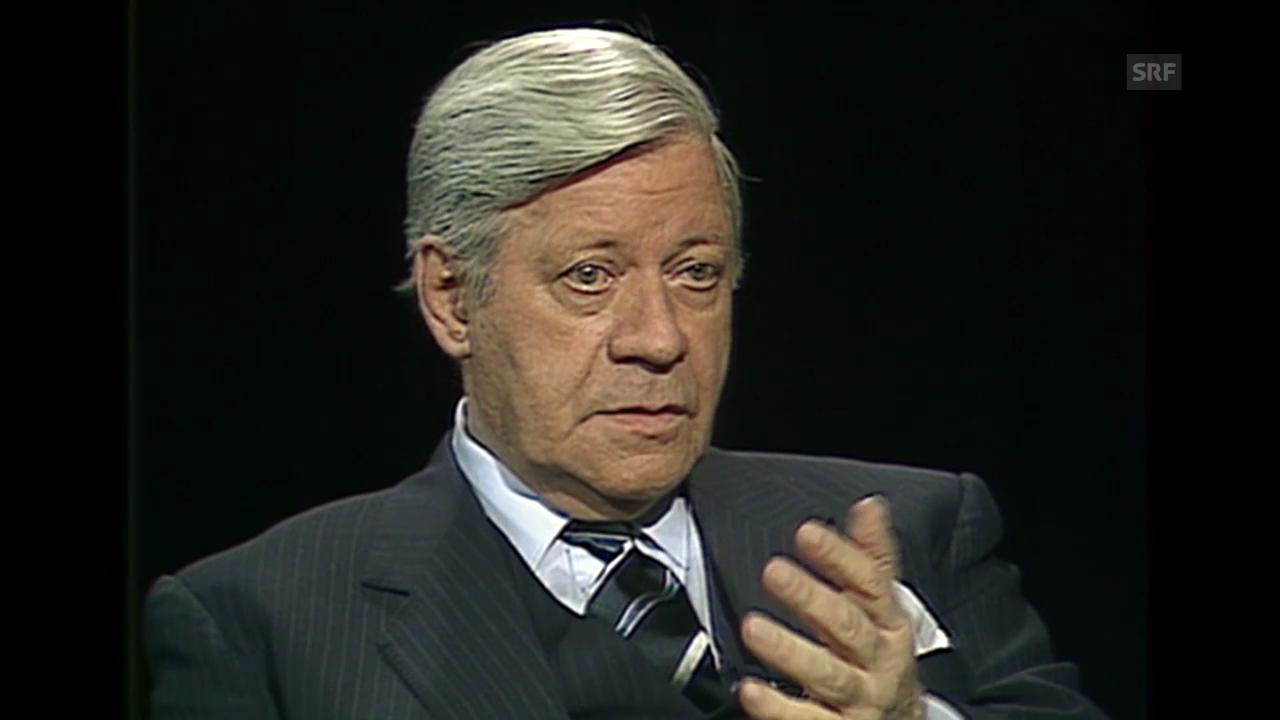 «Helmut Schmidt», vis-a-vis, 30.11.1989