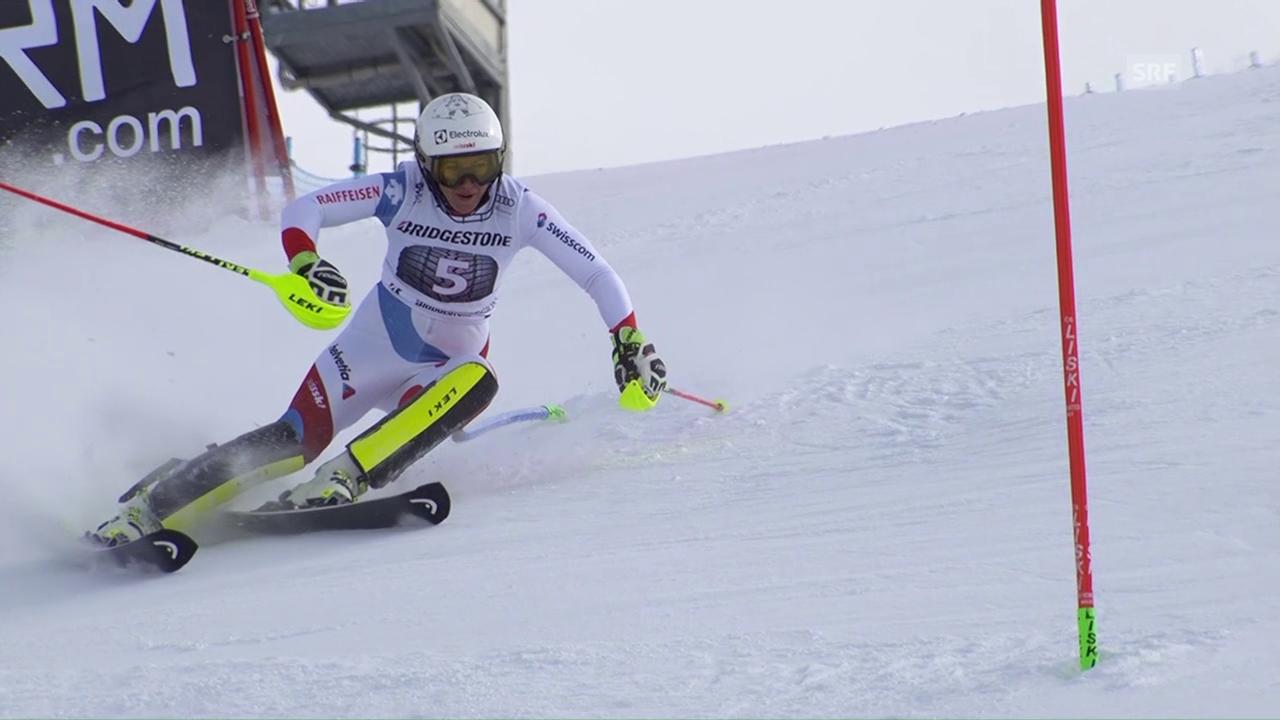 Holdeners Fahrt aufs Slalom-Podest in Sestriere