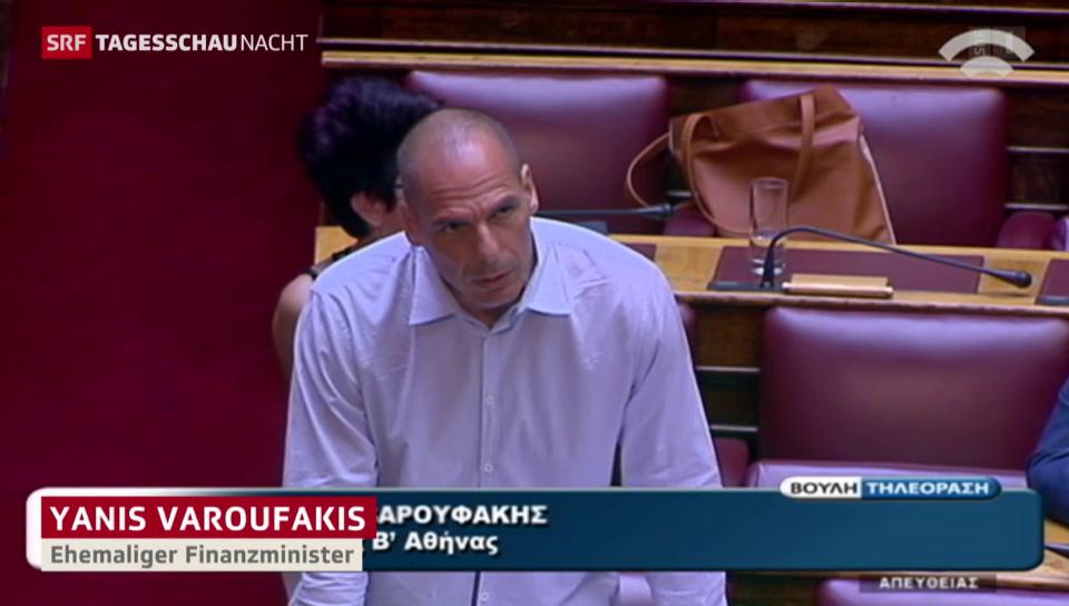 Hitzige Parlamentsdebatte in Athen