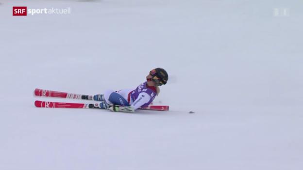 Video «Ski alpin: Saisonauftakt mit Frauen-Riesenslalom in Sölden» abspielen