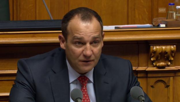 Video «Matter: «Die Regulierungen zahlt die Wirtschaft, nicht der Staat»» abspielen