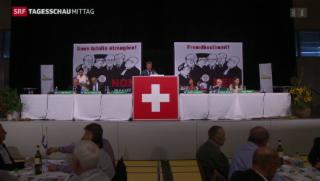 Video «SVP diskutiert Schweizer Recht» abspielen