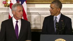 Video «Überraschender Rücktritt im Pentagon» abspielen