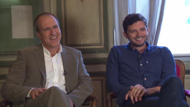 Video «Drei Fragen an: Kevin Doyle und Michael Fox» abspielen