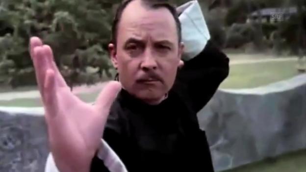 Video ««Magnum»-Signet mit John Hillerman» abspielen