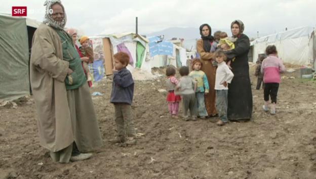 Video «Schweizer Politik streitet über die Aufnahme von Flüchtlingen» abspielen