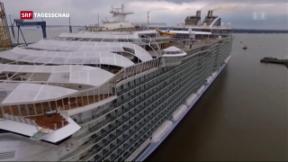 Video ««Harmony of the Seas» vom Stapel gelaufen» abspielen