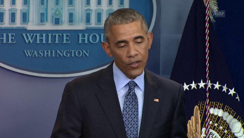 Obama sagt Goodbye
