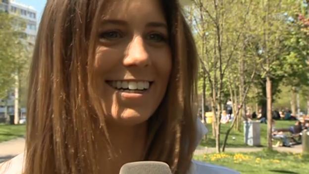 Video «Annina Campell über ihren neuen Moderations-Job» abspielen
