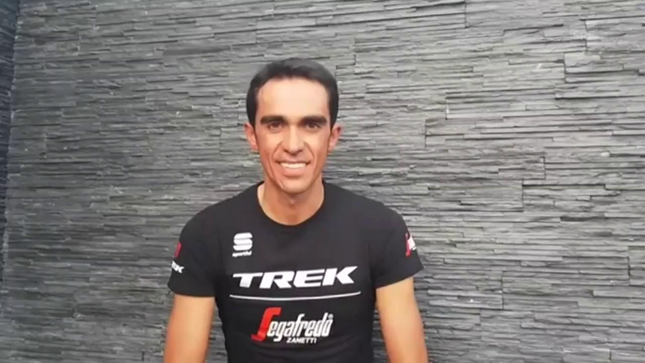 Contador gibt Rücktritt bekannt (span./engl. UT)