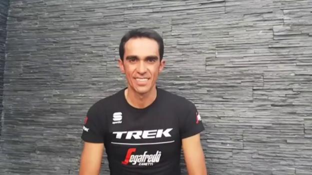 Video «Contador gibt Rücktritt bekannt (span./engl. UT)» abspielen