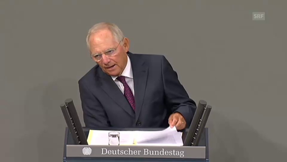 Schäuble: «Chance für einen Neuanfang»