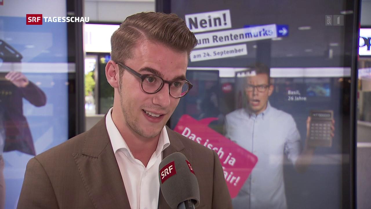 """Andri Silberschmidt: """"Wir haben den Schuldenberg zu begleichen"""""""