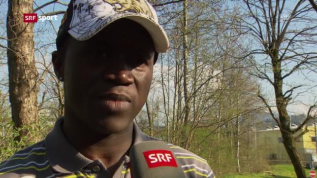 Video «Fussball: St. Gallen verstärkt sich mit Alhassane Keita» abspielen