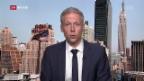 Video «Live-Schaltung zu Thomas von Grünigen in New York» abspielen