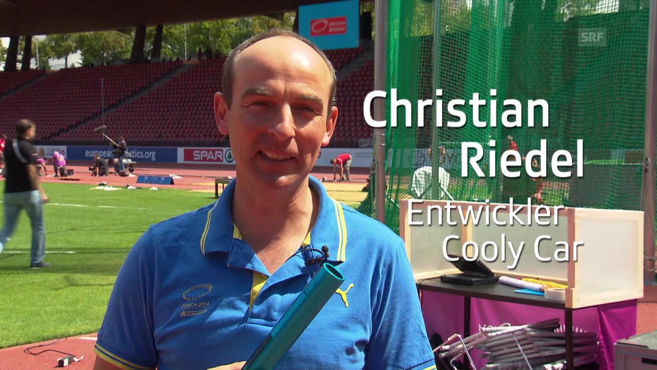 Stille Helfer: Christian Riedel, Entwickler Cooly Car