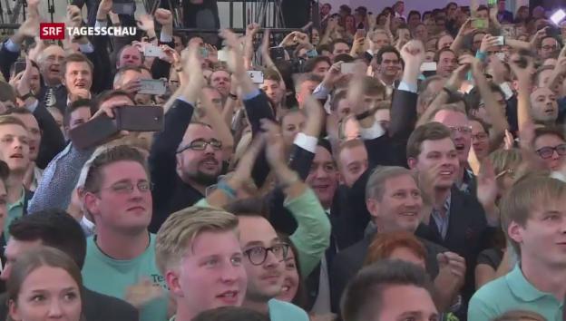 Video «Tagesschau vom 15.10.2017, 19:30» abspielen