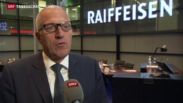 Video «Raiffeisen: Schwieriges Jahr trotz Gewinnsteigerung» abspielen