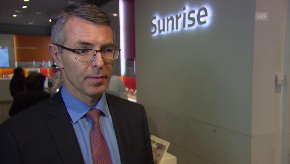 Für Sunrise-CEO Libor Voncina ist eine Fusion mit Orange derzeit kein Thema
