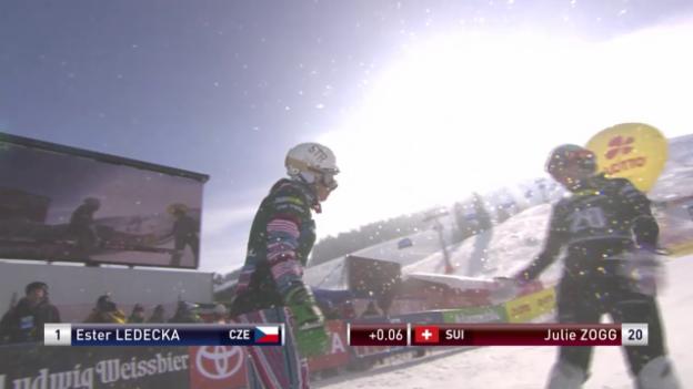 Video «Snowboard: PGS Sudelfeld, Final Frauen, 2. Lauf» abspielen
