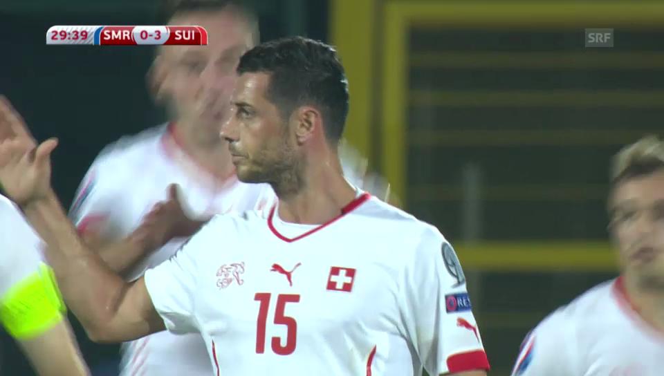 Fussball: San Marino-Schweiz, Live-Highlights