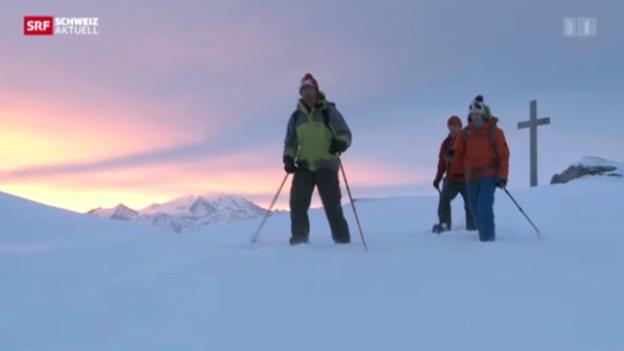Video «3 Spuren im Schnee - 2. Etappe» abspielen