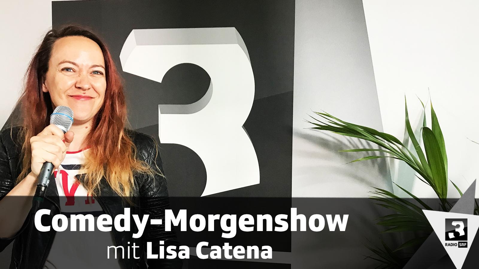 Comedy-Morgenshow mit Lisa Catena