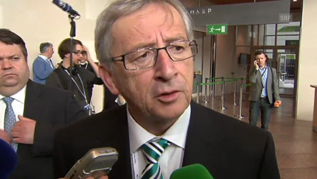 Video «Juncker will Barrosos Posten» abspielen