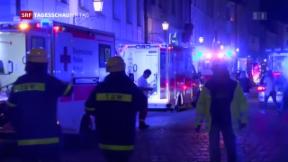 Video «Weiterer Anschlag in Deutschland – Explosion in Ansbach» abspielen